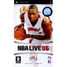 NBA Live 06 (psp used game)
