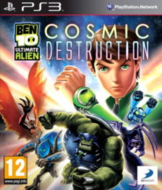 Ben 10 Ultimate Alien Cosmic Destruction zonder boekje (PS3 tweedehands game)