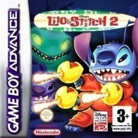 Disney's Lilo & Stitch   (Losse Cassette) (Gameboy Advance tweedehands game)