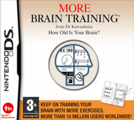 More Brain Training  (Nintedo DS nieuw) (Engels)