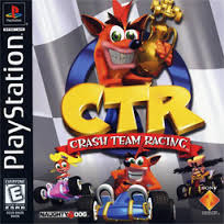 CTR Crash Team Racing  (PS1 tweedehands game)