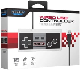 Retro-Bit NES USB controller (PC Nieuw)