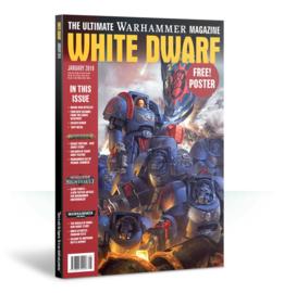 White Dwarf Januari 2019 (Warhammer nieuw)
