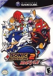 Sonic Adventure 2 Battle players choice zonder boekje (gamecube used game)