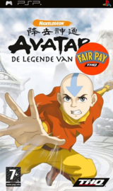 Avatar the Legend of Aang (psp used game)