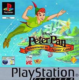 Disney's Peter Pan Adventures in Never Land Platinum (ps1 tweedehands game)