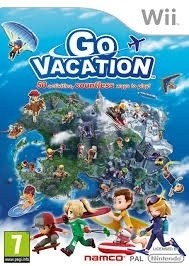 Go Vacation (wii used game)