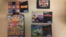 Mega Games I (Sega Mega Drive tweedehands game)