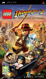 Lego Indiana Jones 2 The adventure continues (psp nieuw)