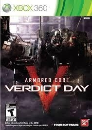 Armored Core Verdict Day (xbox 360 Nieuw)