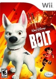 Disney Bolt (wii used game)