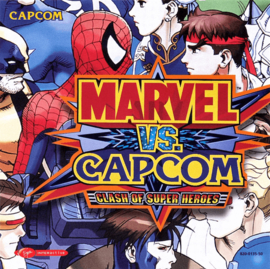 Marvel vs Capcom Clash of Super Heroes (Dreamcast tweedehands game)