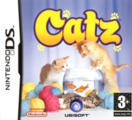 Catz licht beschadigde cover (Nintendo DS tweedehands game)