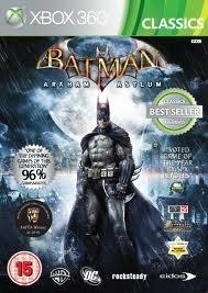 Batman Arkham Asylum Classics zonder boekje (xbox 360 used game)