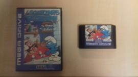 De Smurfen zonder boekje (Sega Mega Drive tweedehands game)