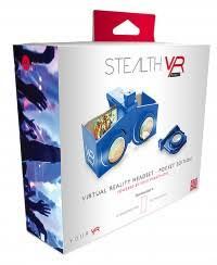 Stealth VR Pocket Virtual Reality Bril voor je smartphone blauw (nieuw)