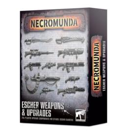 Necromunda Escher Weapons and upgrades (Warhammer nieuw)