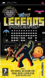 Taito Legends Power Up (psp used game)