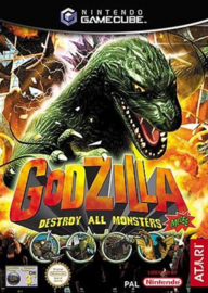 Godzilla destroy all monsters (Gamecube tweedehands game)