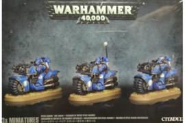 Warhammer 40,000 Bike Squad koopje (Warhammer nieuw)