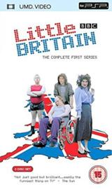 Little Britain serie 1 (PSP Tweedehands film)