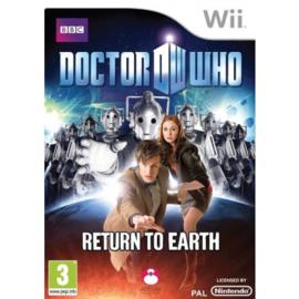 Doctor Who Return to Earth zonder boekje (Nintendo Wii tweedehands game)