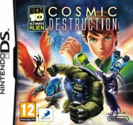Ben 10 Ultimate Alien Cosmic Destruction zonder boekje (Nintendo DS tweedehands game)