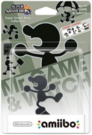 Amiibo Mr. Game and Watch (Amiibo Nieuw)