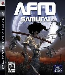 Afro Samurai (ps3 used game)