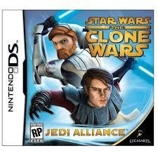 Star Wars the Clone Wars Jedi Alliance (Nintendo DS tweedehands game)