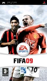 Fifa 09 beschadigde cover (psp tweedehands game)