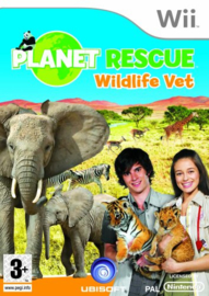 Planet Rescue Wildlife Vet (wii used game)