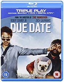 Due Date Blu-ray en DVD (Blu-ray tweedehands film)