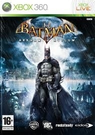 Batman Arkham Asylum zonder boekje (Xbox 360 used game)