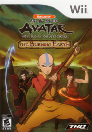 Avatar: The legend of Aang the Burning Earth zonder boekje (wii used game)
