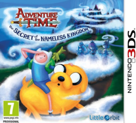 Adventure Time the Secret of the Nameless Kingdom zonder boekje (Nintendo 3DS tweedehands game)