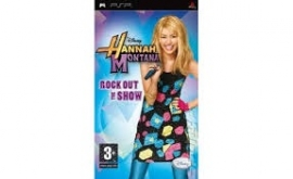 Hannah Montana Rock out the Show (psp tweedehands game)