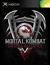 Mortal Kombat Deadly Alliance zonder boekje (XBOX Used Game)