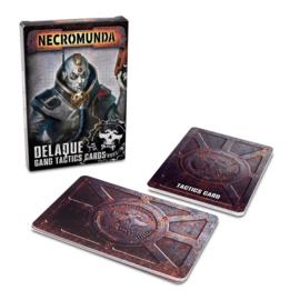 Necromunda Delaque Gang Tactics Cards (Warhammer nieuw)