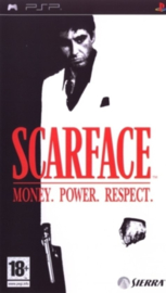 Scarface: Money. Power. Respect. (beschadigde cover)  (PSP tweedehands  game)