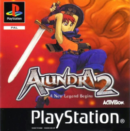 Alundra 2 (ps1 tweedehands game)