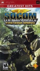 Socom U.S. Navy Seals Fireteam Bravo Greatest Hits (psp nieuw)
