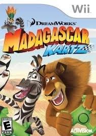 Dreamworks Madagascar Kartz zonder boekje (Nintendo Wii used game)