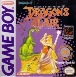Dragon's Lair  losse cassette (Gameboy  tweedehands game)