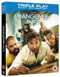 Hangover part II Blu-ray + DVD (Blu-ray tweedehands film)