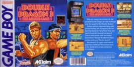 Double Dragon 3 The Arcade Game losse cassette (Gameboy  tweedehands game)