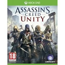 Assassin's Creed Unity zonder boekje (xbox one used game)