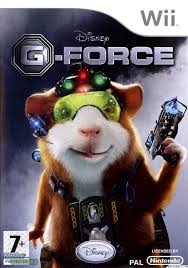 Disney G-Force  (wii used game)