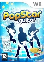 Popstar Guitar (wii used game)