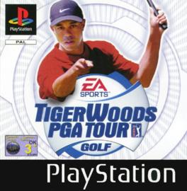 Tiger Woods PGA Tour Golf (PS1 tweedehands game)